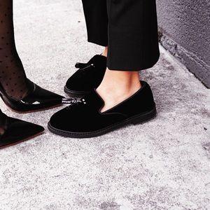 Velvet Zara loafers